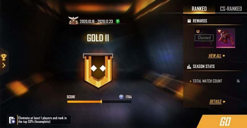 Akun-Game-Free-Fire-Rank-Gold-Gratis