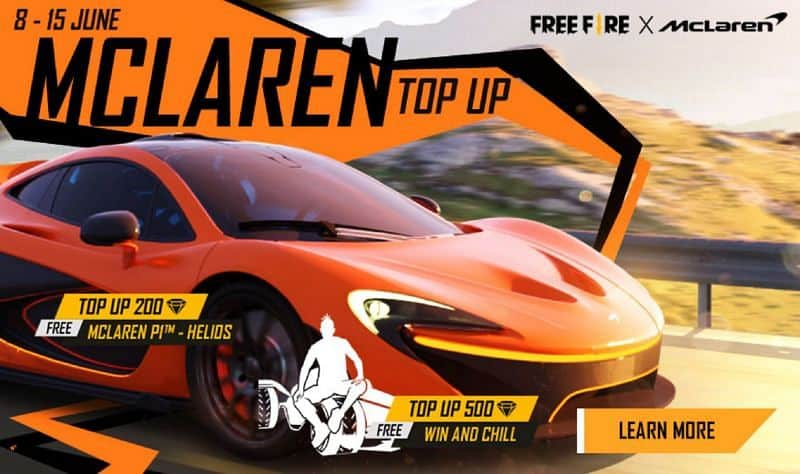Event-Free-Fire-X-McLaren