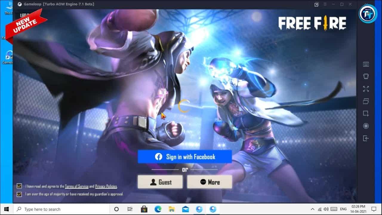 Fitur-dalam-game-Free-Fire-versi-smartphone-dan-GameLoop