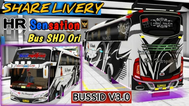 Livery-BussID