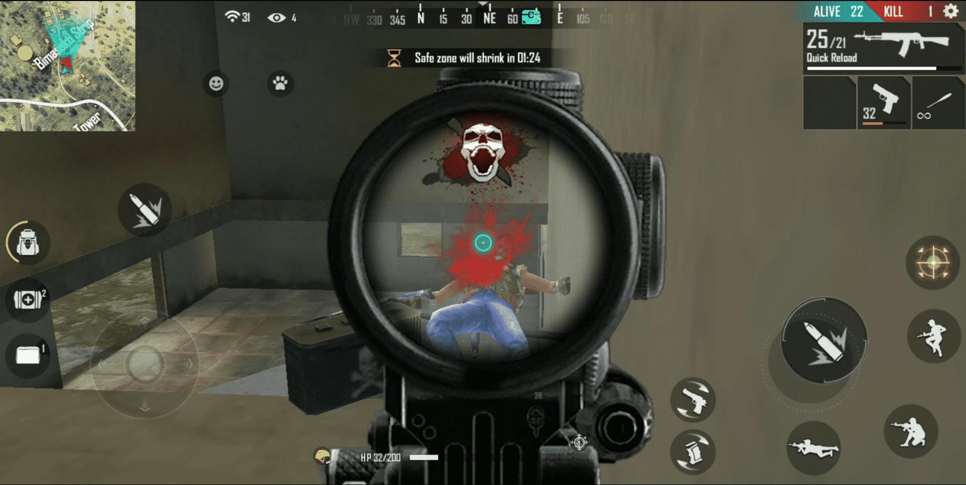 Aim-shoot