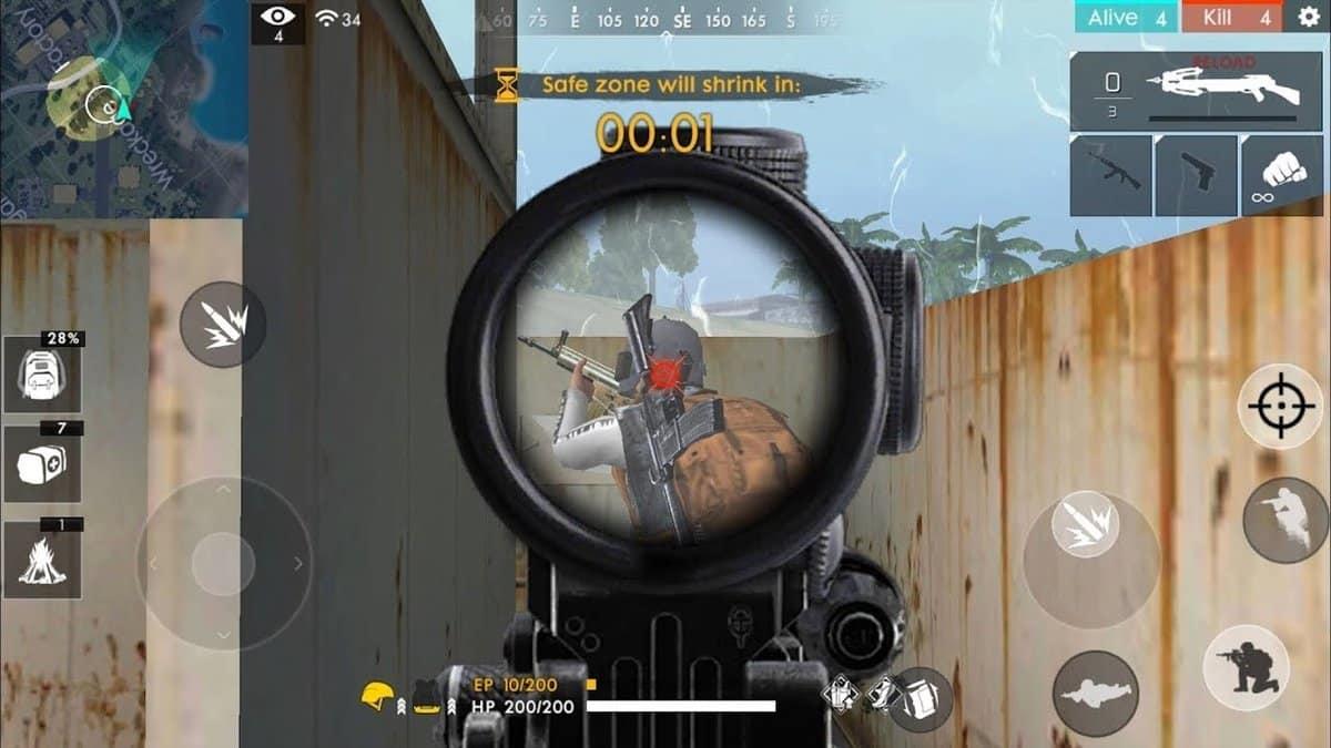 Aim-spot