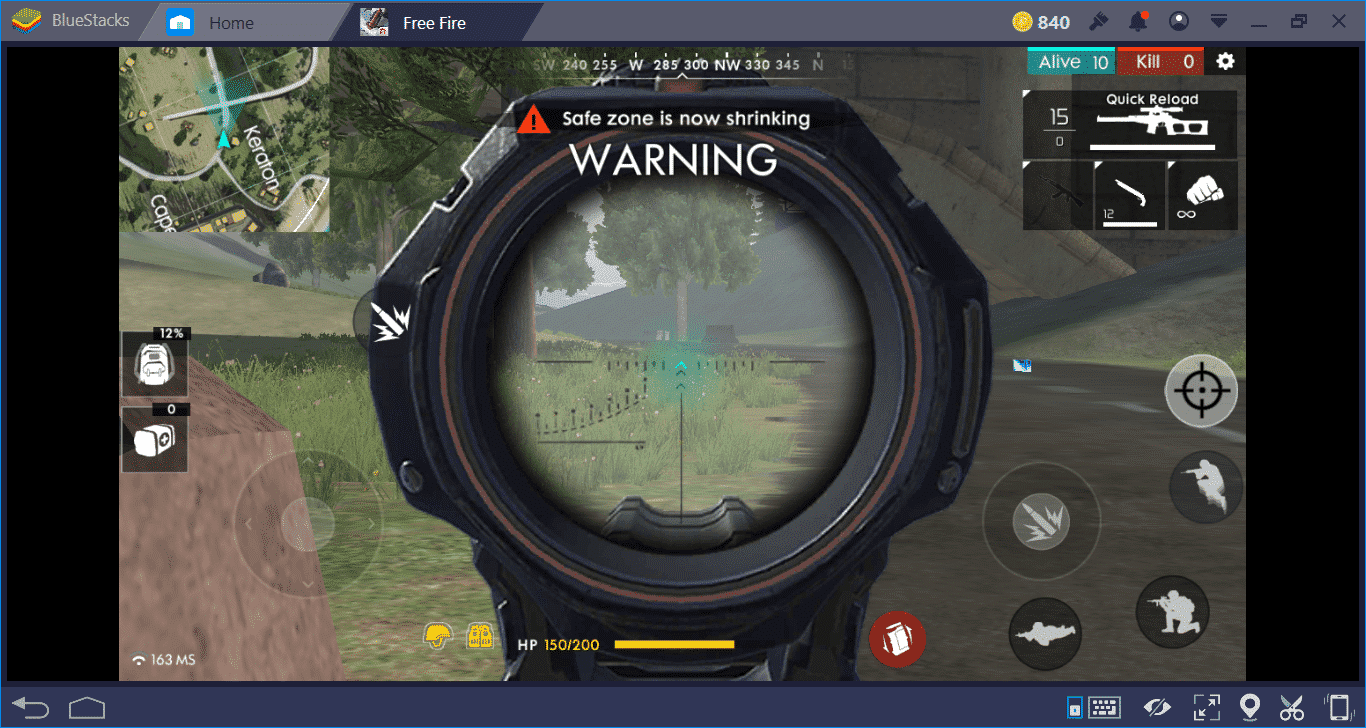 Aim-zoom