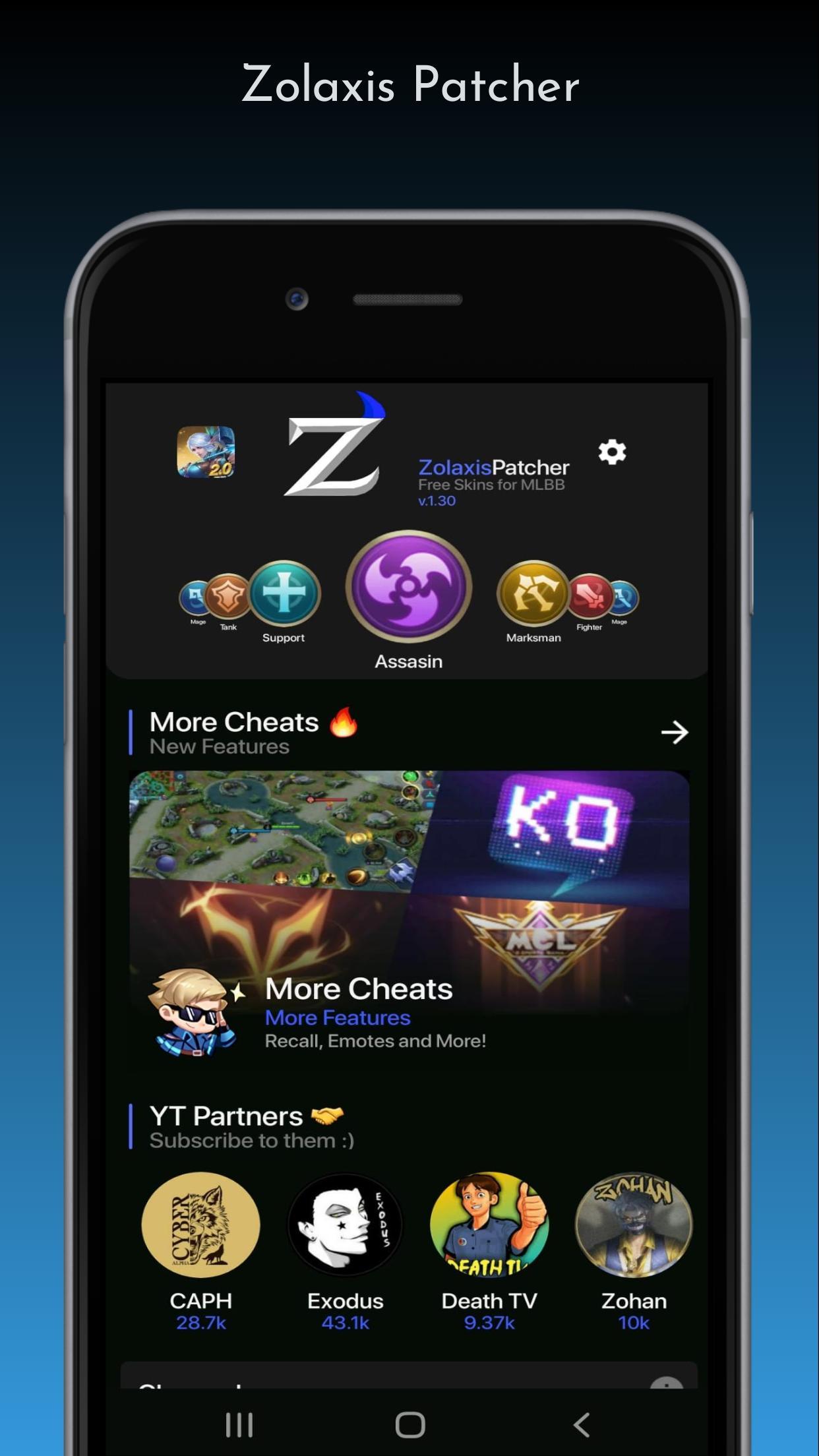Kelebihan-Zolaxis-Patcher-Apk-Unlock-Skin-Mobile-Legends